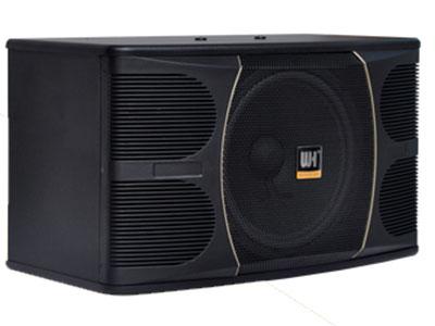 威皇 UK-610 1.精密四驅動KTV包房揚聲器 2采用先進的技術,專為卡拉OK唱歌而設計。 3.根據房間大小,可以改變揚聲器的高度和距離,以獲得最佳音效。 4. 內置高音揚聲器保護電路。
