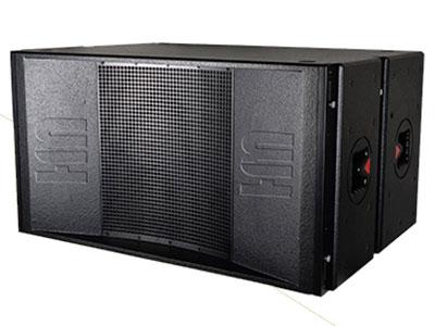 威皇 DL-218S 緊湊型高聲壓高功率戶外遠程超低音箱系統;高強度進口板材配合無縫隙結合結構,低頻更飽滿自然還原度更高;使用2只高效率18寸低頻單元;低頻飽滿而富有彈性和爆發力,迷宮反射式設計,低頻力度迅猛,投射距離更遠;采用高強度的戶外特殊油漆、防滑耐磨、不變色、防淋防曬;吊件齊全 可與全頻組合安裝 更方便快捷