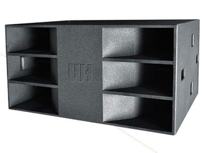 威皇 TSW-218 緊湊型高聲壓高功率戶外遠程迷宮式超低音箱系統;高強度進口板材配合無縫隙結合結構,低頻更飽滿自然還原度更高;使用2只高效率18寸低頻單元;低頻飽滿而富有彈性和爆發力,迷宮反射式設計,低頻力度迅猛投射距離更遠;采用高強度的戶外特殊油漆,防滑耐磨,不變色,防淋防曬;安裝使用,更方便快捷