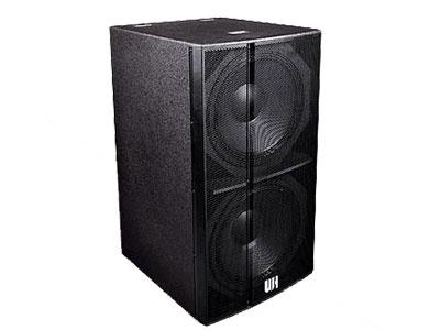 威皇   UF低頻系列 雙驅動直接輻射式超低音,寬覆蓋范圍結構設計;高強度進口樺木板材配合無縫隙結合結構,聲音更自然有力,下沉穩重;強勁的低頻爆發力,下潛深而有力,滿而富有彈性;通透干凈的超低頻包圍和現場效果;特殊的酒吧聲線設計與全頻音箱完美搭配;