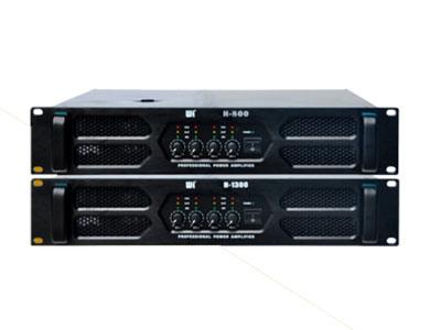 威皇 H-800/H-1300 專業功放 優質元器件,搭配先進合理的電路設計,確保功放的高保真、高阻尼系數,使音質更加完美;設計精良的線性供電系統,通過邏輯電源實時動態控制電路調整功率輸出;超大高效的環形變壓器,功率充沛,具備磁屏蔽層,有效隔離干擾;完備的保護功能,過溫、過載保護,穩定性高,能長時間適應各種復雜環境。