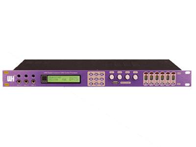 威皇 Q8 數碼前置處理器 具有音箱處理器功能的卡拉OK效果器,每部分功能都獨立可調。 采用24Bit數據總線和32Bit DSP。MUSIC設有7段參量均衡。MUSIC到主輸出高通濾波器:12dB-24dB(0Hz-303Hz)。MIC設有15段參量均衡,麥克風有壓縮限幅功能。 主輸出設有5段參量均衡。有壓縮限幅功能。 中置輸出,后置輸出及超低音均設有3段參量均衡。 麥克風有4種反饋抑制,并可選擇OFF/1/2/3。 可存儲16種模式。 本機設有全功能菜單,也可通過PC界面設置。