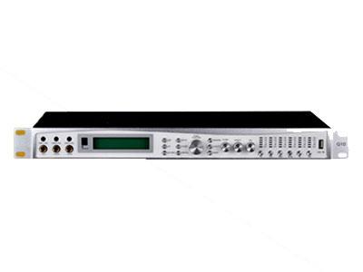 威皇 Q10前級處理器 可存儲16種模式,主輸出設有5段參量均衡;采用24Bit數據總線和32Bit DSP;MIC輸入通道設有15段參量均衡;MUSIC輸入通道設有10段參量均衡;中置輸出,后置輸出及超低音均設有3段參量均衡;此系列產品是具有音箱處理器功能的卡拉OK效果器,每部分功能都獨立可調;