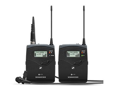森海塞爾  EW 112P G4 全指向采訪領夾話筒(麥克風)