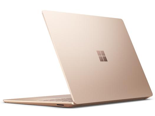 微软 Surface Laptop3 256G砂岩金 i5-1035G7  8G 256G TM Plus显卡 13.5寸