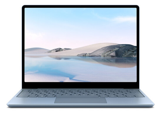 微软Surface Laptop Go 256G冰晶蓝 中国版 I5-1035G1 8G 258G Iris TM Plus显卡
