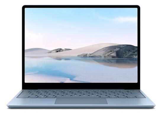 微软Surface Laptop Go 256G冰晶蓝 专业版 I5-1035G1 8G 258G Iris TM Plus显卡