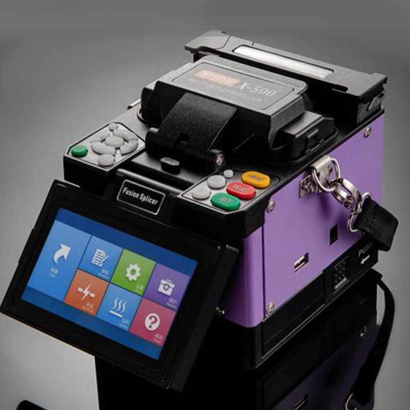 上海相和X-510/500光纖熔接機全自動光釬熔纖機皮線跳線尾纖光纜熱{特價:4600元}