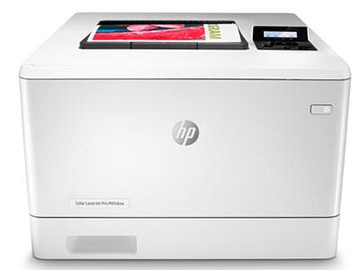 惠普 454NW  彩色单打印A4
