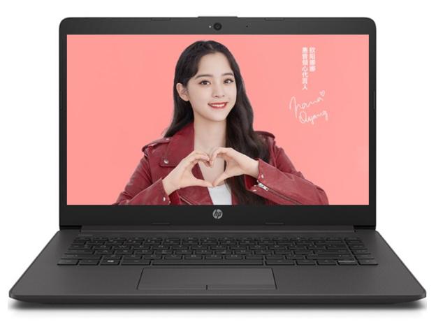 """HP256 G8-2V3K4PA I7-1065GA/8G/512G/无光驱/W10/15.6"""" HD 防眩光屏/灰色"""