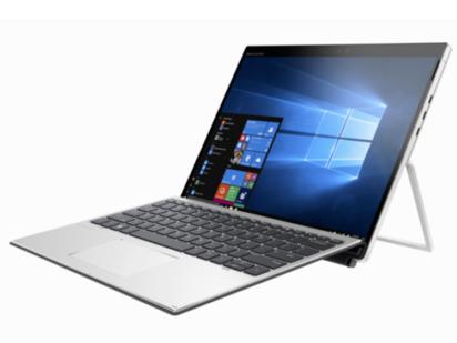 Elite x2 G4-9BY91PC i5 8265U/8GB /512G固态硬盘/集成显卡/无光驱//指纹识别/Win10/13英寸 IPS第四代高清防窥触屏 3Kx2K ,450nit, 100\%/银色