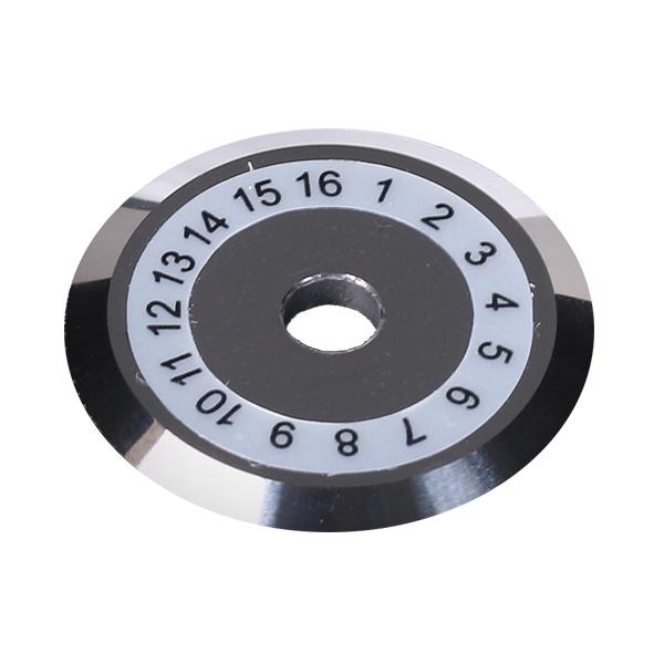 16位光切割刀 刀片適用于:吉隆 DVP 藤倉。。等切刀¥ :88元