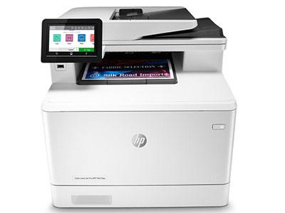 惠普 M479DW377DW升级 彩色一体打印机A4