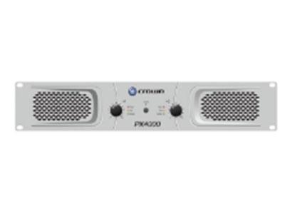 PX1000純后級功放立體聲4Ω:300W/ch; 立體聲8Ω:200W/ch; 橋接8Ω:600W; 聲道:2ch; 靈敏度:0.775V或者1.4V; 信噪比:>100dB(低于額定功率20Hz-20KHz,A計權); 諧波失真
