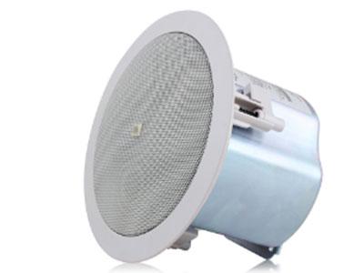 JBL  Control 12C/T 頻率范圍( -10dB) : 74Hz - 20KHz 功率(定阻) : 60 W連續節目功率,30 W連續粉紅噪聲,標稱阻抗: 8歐姆 功率(定壓): 25 W , 12.5 W, 6.3 W @ 70V或100V(加3.2 W @ 70V只) 頻率響應( ±3dB): 100Hz - 20KHz 標稱靈敏度:87dB 標稱覆蓋角度: 120 °圓錐角覆蓋 指向性因數(Q ) : 7.6 指向性指數(DI ) : 8.1dB 額定最大聲壓級:102dB@ 1米 低頻驅動器:100毫米(4.0英寸)聚丙