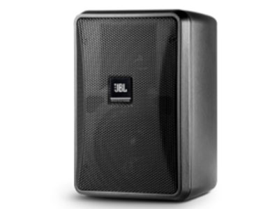 JBL  CONTROL23-1L 二路二分頻全頻音箱 3寸玻璃纖維錐盆低音,1寸聚乙烯亞胺膜高音 額定功率50W,節目功率100W,阻抗8歐 靈敏度91dB,最大聲壓級109dB,覆蓋角度100x100 頻率范圍70Hz-20kHz,頻率響應95Hz-19kHz 體積(高X寬X深)200x141x111mm 含安裝支架,顏色黑色/白色,重量1.6kg,產地中國