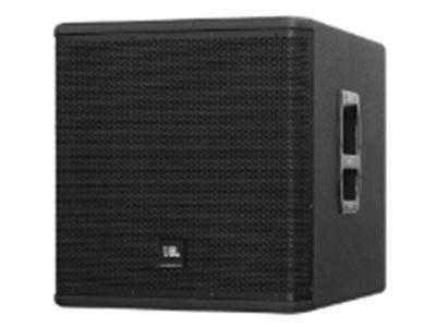 "JBL VPX718S 18"" JBL 2044G低音單元,低頻延展出色  大倒相孔設計,有效減少失真  箱體采用優質木夾板,覆黑色DuraFlexTM涂層  高強度16號鋼質網罩,內襯防護聲學纖維  頂部設有音箱桿插孔,可搭配衛星揚聲器使用  低調緊湊型設計  應用:  現場樂聲、人聲或重放擴聲  可搭配全頻衛星揚聲器使用"