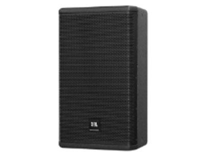 """JBL VPX712M 12""""高效型低音單元  1.5""""環形聚乙烯振膜壓縮高音單元  低調緊湊的外觀設計,減少對觀眾視線的遮擋  箱體采用優質木夾板,覆黑色DuraFlexTM涂層  70° × 60° (H × V)覆蓋角度,具有均勻平滑的軸向與偏軸向響應  高強度16號鋼質網罩,內襯防護聲學纖維  雙角度音箱桿安裝孔 13處懸掛點,便于各種朝向吊掛安裝  應用:  現場樂聲、人聲或重放擴聲  可用作舞臺監聽或衛星揚聲器"""