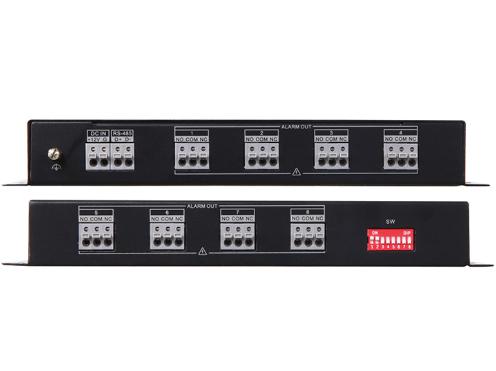 海康威视 DS-29M04-RO 4路继电器输出扩展模块;自带拨码,12V供电