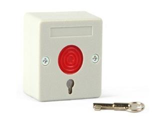 海康威视 DS-PDEB-BR 有线紧急按钮;墙装型按钮;NO/NC可选