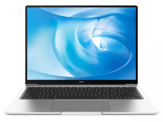 华为笔记本电脑 MateBook 14 2020款 14英寸 锐龙版R7 4800H 16G+512G 2K触控全面屏轻薄本/多屏协同 皓月银