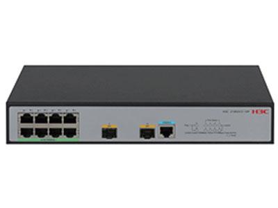 H3C LS-1850V2-10P-PWR 8個GE+2個SFP光口,交換容量48GbpsGbps,包轉發率30Mpps,POE供電64W,端口最大輸出:30W