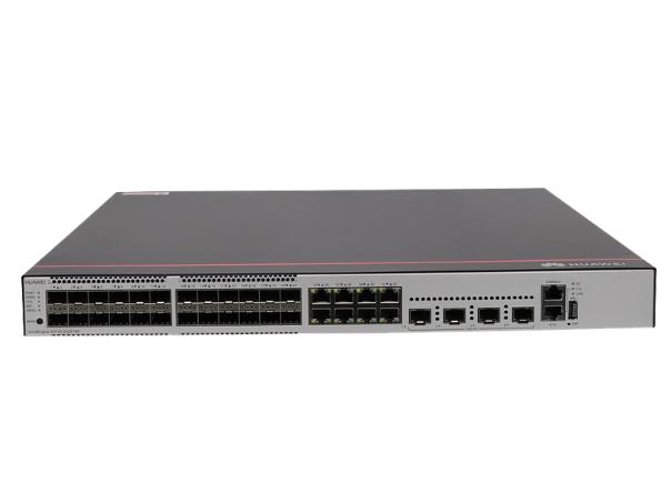 華為 S5735-S32ST4X (24個千兆SFP,8個10/100/1000BASE-T以太網端口,4個萬兆SFP+,不含電源)