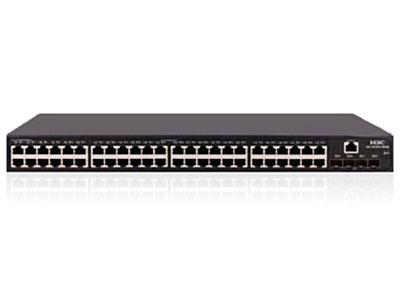 H3C LS-5130S-52S-LI  交換容量:336Gbps/3.36Tbps;包轉發:144Mpps;48 個10/100/1000BASE-T 以太網端口,4 個10G BASE-X SFP+萬兆端口;