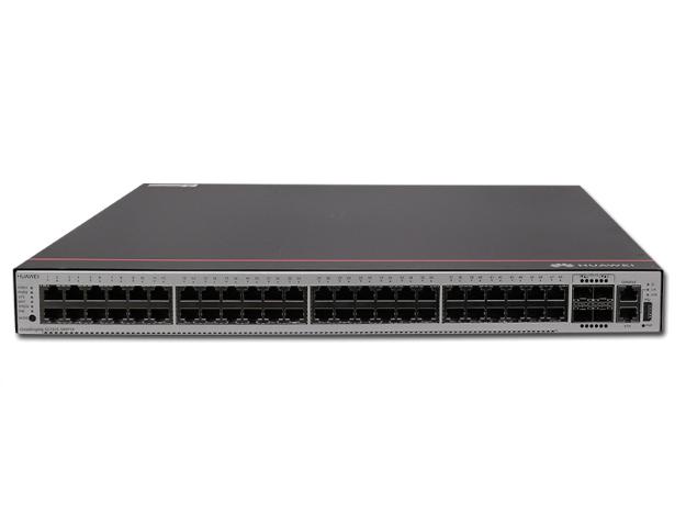 華為 S5735S-S48T4X-A (48個10/100/1000BASE-T以太網端口,4個萬兆SFP+,含1個60W交流電源)