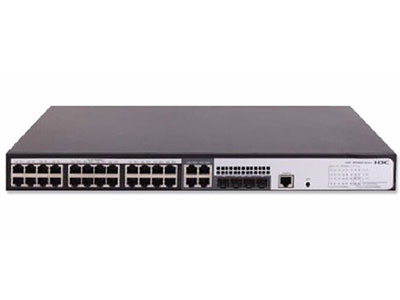 H3C  WS5820-28TP-POE-WiNet 24GE(PoE+電口(AC 370W,DC 740W),+4SFP+4個GE Combo口交換容量336Gbps/3.36Tbps,包轉發率(整機)51Mpps,H3C WINET可配合綠洲云管理平臺,享用專業的網絡管理和運維服務,極大降低企業用戶網絡管理的投資成本,同時提高網絡運維管理體驗。