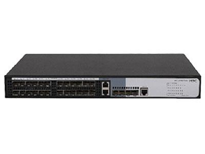 "H3C WS5850-28F-WINET ""交換容量336Gbps/3.36Tbps,包轉發率 96Mpps24個100/1000base-T SFP 端口,2個GE Combo口,4個1000base-X SFP端口,支持AC,自帶電源,H3C WINET可配合綠洲云管理平臺,享用專業的網絡管理和運維服務,極大降低企業用戶網絡管理的投資成本,同時提高網絡運維管理體驗。"""