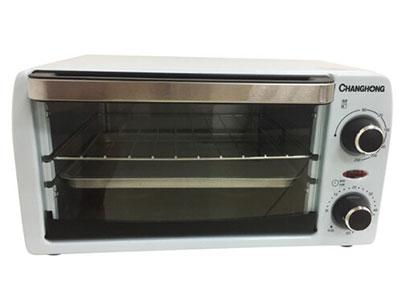 长虹电烤箱CKX-10J01,不锈钢发热管,穿透力强,速热节能,90-230℃ 可控温度