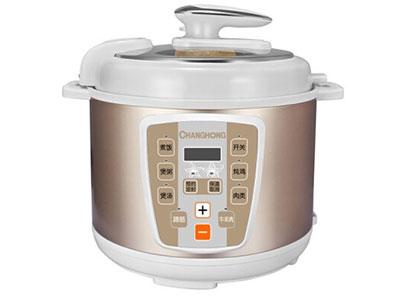长虹电压力锅 (电脑版)CYL-50E02S,八大烹饪功能,一锅多用,食品接触用聚能加厚双喷内胆