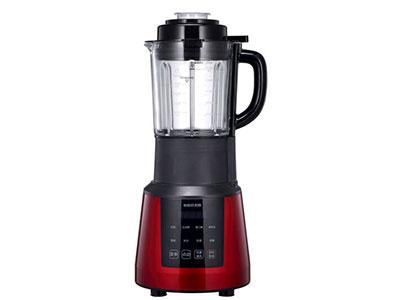长虹红太阳破壁料理机PB08-H1,全铜高速电机,智能瞬间破壁,高硼硅玻璃,防溢出保护