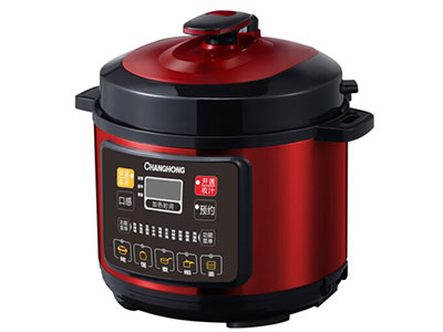 长虹(CHANGHONG)双内胆电压力锅(电脑版)CYL-50M14,加厚双喷内胆,15大烹饪功能