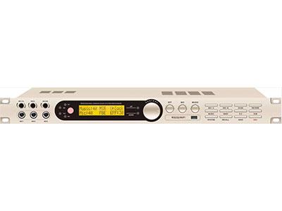 """QSN/韵强/英国)X8KTV包房效果器 """"1, 双路话筒调节,音乐动态均衡; 2, 带音箱处理器功能,主通道、超低音、中置、辅助独立可调。 3,全参量均衡(音乐15段,话筒20段); 4,全新电脑操作界面,支持效果另存以及发送,操作简单直观; 5,独有回声、混响效果参量均衡(PEQ/LSH/HSH切换); 6,辅助通道(包括超低音)音乐以及麦克风参数可独立调节; 7,各通道有延时功能,适合各种房型以及音箱摆位; 8,第五代反馈抑制方案; 9,自主研发全新电路,宽频响,高速CPU,处理更精细; 10,带录音输出,输出参数可以独"""