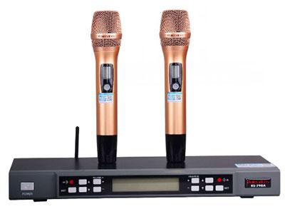 "QSN/韵强/英国)K301""一拖二无线话筒 "" 系统规格:频率范围 :640MHz--690MHz,可调信道数:100X2=200,震荡方式:锁相环(PLL)频率合成,频率稳定性:±10ppm.发射机:频率范围 :640MHz--690MHz,可调信道数:100X2=200,频率稳定性:±10ppm,调制方式:调频(FM),射频功率:10--30mW,音频频响:40--18KHz,电池规格:2x1.5V AA Size.接收机:频率范围 ,640MHz--690MHz,可调信道数:100X2=200,接收方式:超外差二次变频,接收灵敏度:100dBm"
