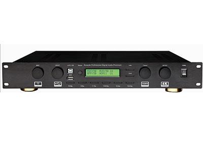 "QSN/韵强/英国)KF2606通道家庭影院可唱K数码功放 ""1.专业KTV前置效果器和影院5.1音频解码处理器的完美结合。 2.KTV模式和影院模式,自动切换模式和一键切换模式,每个相关通道参数均独立可调。 3.采用32位高性能高运算DSP,高信噪比专业AD/DA,使用24位/48K纯数字采样。 4.独特的麦克风反馈拟制算法,有8级强度可调。 5.专业演唱的回音效果,有单声道回声/立体声回声/双回声三种类型,可自由地调整。 6.多样可选的混响效果,有大厅/房间/板房三种类型,满足不同的要求。 7.麦克风激励器,使歌唱变得轻松自如。 8.光纤和同轴"