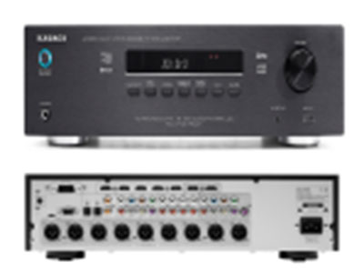 """QSN/韵强/英国)KE2007.2声道家庭别墅影院纯解码器 """"* HDMI 1.4 (1080P),支持3D立体电视和蓝光盘机 *音频返回(电视机音频通过HDMI线,返回解码器经杜比或DTS解码后输出2或5.1通道环绕声) *模拟音频输入敏感度与阻抗: 200 mV / 47k ohm *铝面板,荧光管器显示 *屏幕菜单显示(OSD) *高保真前置放大器 *待机电源"""