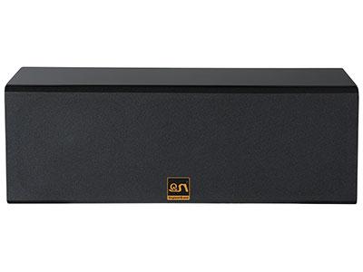 """QSN/韵强/英国)KH626双6.5寸影院中置音箱 """"该箱体用高密度板以及表面喷涂新型环保塑胶漆,质感细腻精致尽显高端大气。 箱体强度大、重量轻,发声时箱体震动更少,有效减少更多有害驻波、杂波,影音还原度更加真实,音质更好。同时作为订制级影院中置音箱单元应有一定的声压级和动态表现能量,声音准确、有力、干净层次分明带来丰富的感官体现。                                                                                   •单元构成:低音2×6.5""""""""(120磁38芯)"""