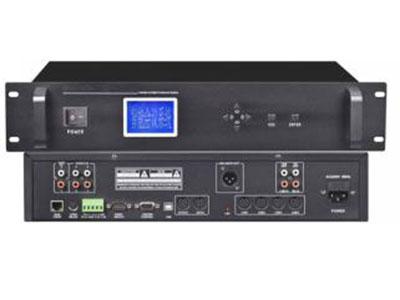 """澳雅声 视像跟踪讨论主机A-9870PH """"视像跟踪讨论系统由硬件和软件组成,采用智能数字控制技术,连接电脑具有USB接口,TCP/IP 网络接口,WiFi局域网和RS232串口控制等多种选择,支持会场布图、在线检测、会场话筒开启/关闭控制。实现多功能、可脱离电脑且操作简单的新一代全功能数字视频跟踪会议系统,广泛应用于任何规模的大厅、宾馆、银行、公司会议厅及国际大型多种语言会议中心。 ↘支持 WiFi局域网数据交换,实现无线操控中央处理器所有控制功能,给使用和工程安装设备维护带来极大方便性。 ↘支持系统热插拨,主机显示屏支持中/英文菜单操作"""