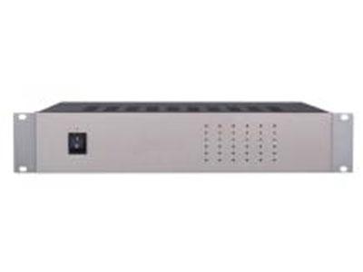 """澳雅声 4路红外发射主机A-9878M """"↘内置PLL频率合成器,工作稳定 ↘射频功率输出自动分配功能 ↘接口电缆阻抗自动匹配功能 ↘音频输入电平指示功能 ↘音频输入自动ALC功能,+/-18dB ↘工作状态指示功能 ↘标准BNC连接口"""""""