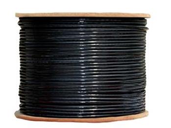 普天迅達 超五類4對UTP數據電纜室外雙護套 PT-5E42050DB 黑色