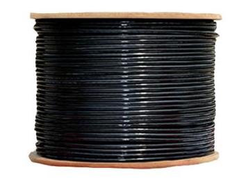 普天迅達 六類4對UTP數據電纜室外雙護套 PT-6A42057DB 黑色