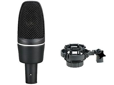 """澳雅声  大膜片录音话筒3000C """"↘指向特性:单一指向型(心型) ↘频率响应:30Hz-20KHz  ↘灵敏感度:25mV/Pa  ↘最大声压:130dB(1KHz  T.H.D<1\% ) ↘等效噪声级:14 dB(A计权)  ↘电源供应:幻像48V电源 ↘传声器尺寸:54x160mm ↘抗手机、RF射频干扰设计"""""""
