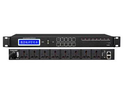 """澳雅声 密码登陆+RS232   电源管理器AT-9300 """"是一款真正意义的数字电源管理器,采用 公司CPU数字处理芯片,性能稳定可靠。全球首创的密码登录开机模式,一改传统用锁匙开启模式,保密性强,操作简单,极具人性化,满足当今社会数字信息化发展需求。多种首创功能,适用性强,使用灵活方便,PX8正是 对技术创新,勇攀科技高峰的执着追求。 ↘具备有密码和无密码登陆模式 ↘LED大屏液晶显示,中/英文切换操作菜单 ↘支持自定义电源通道开启模式 ↘支持默认模式、全开放模式和反向模式 ↘支持全开放和自由开启模式 ↘每通道开启/关闭顺序,可单独设置延时间隔("""