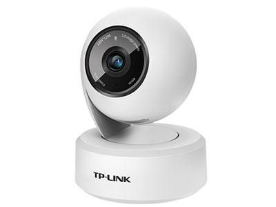 TP-LINK  TL-IPC43AN-4 300万高清像素;支持水平、垂直方向云台转动,水平总视角360°;网口/WIFI可选;支持双向语音,报警推送,移动跟踪,主动防御;移动侦测录像;Micro SD卡存储;支持手机、PC等多台设备多平台同时查看监控