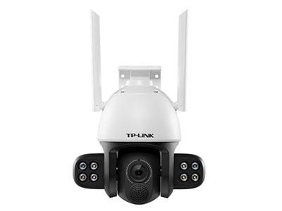"TP-LINK  TL-IPC634-A4 ""高分贝扬声器,更优音质;外挂6颗白光灯+2颗红外灯,支持全彩/红外夜视双光源; 300万高清像素,采用星光级图像传感器;提供Wi-Fi连接,减少布线麻烦;一体式支架,支持抱杆/吸顶/壁挂安装;云台转动,水平可视角度360°,垂直可视角度168°;IP66级防尘防水,满足室内室外各种应用场景;智能移动侦测,异常情况及时推送报警信息;支持双向语音通话,沟通无障碍;支持声光报警,高功率喇叭搭配白光灯实现智能警戒;最高支持128GB Micro SD卡,拥有更长的存储时间"""