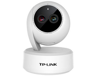 TP-LINK  TL-IPC43AN 双目变焦版 双目变焦,3倍光学变焦锁重点;提供WiFi和网口两种选择;支持APP远程控制;云台转动,水平可视角360°,垂直可视角度168°;智能移动侦测,异常情况及时推送报警信息;支持双向语音通话,沟通无障碍;最高支持256GB Micro SD卡,拥有更长的存储时间;ICR红外滤片式自动切换,日夜不间断监控;支持onvif协议,可配合NVR使用