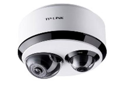 "TP-LINK  TL-IPC55T2 ""该款产品可应用于室内监控的场所,如住宅、办公室、便利店、商铺、超市、仓库、教室、药店等。 产品功能: 双目摄像机,500万全景+200万特写; 网口/Wi-Fi可选;支持双向语音,可通话可录音;支持智能跟踪,自动跟拍移动物体;支持移动侦测,异常情况声光报警;支持红外夜视;最高支持128GB Micro SD卡存储;支持手机、PC等多台设备多平台同时查看监控"""